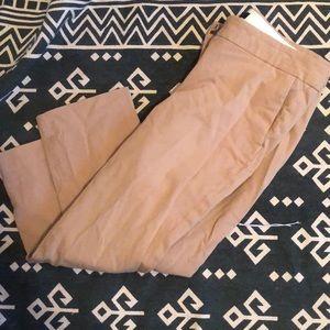 Jcrew Size 6 Cropped Khaki